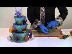Decoraciones Bañadas con Isomalt de CakePlay (Drizzle Decorations)