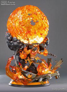 One Piece Portgas D. Ace HQS by Tsume   Tsume enthüllt eine weitere Statue aus dem One Piece Universum. Die coole Portgas Ace HQS. Ein wahres Meisterwerk.