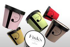 Pink's Thai ice cream (glaces)   Design : Creative Retail Packaging (CRP), Seattle, Etats-Unis (septembre 2015)
