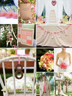Shabby Chic Barn Wedding Ideas | Found on lifeisasunset.blogspot.com