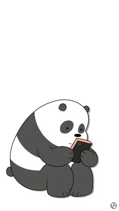 panda we bare bears cartoon network cn panda lockscreens lockscreens wallpapers homescreens voguelockscreens.tumblr.com