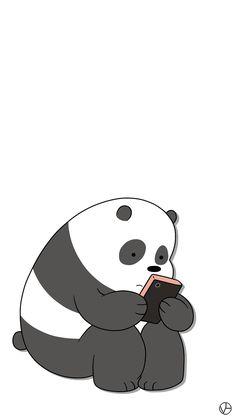 panda we bare bears cartoon network cn panda lockscreens lockscreens wallpapers homescreens voguelockscreens.tumblr.com