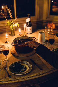 Candlelit dinner at Luttrell& Tower - Dinner party/Picnics - 17 Kpop, Autumn Cozy, In Vino Veritas, Slow Living, Aesthetic Food, Southampton, Simple Living, Cozy House, Dream Life
