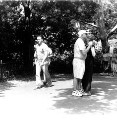 old couple dancing in park by iiamthelorax, via Flickr