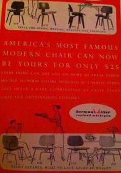 1953 Eames advertisement