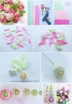 All 9 templates paper flower templates giant paper flower template Handmade Flowers, Diy Flowers, Flower Decorations, Fabric Flowers, How To Make Paper Flowers, Tissue Paper Flowers, Paper Roses, Candy Crafts, Paper Crafts