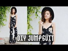 DIY Jumpsuit: Look book for the first portion. Tutorial starts at 3:13.