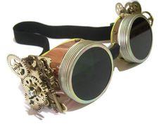 vêtements de lunettes/steampunk steampunk. par SoYesterdayThings https://www.steampunkartifacts.com/collections/steampunk-glasses