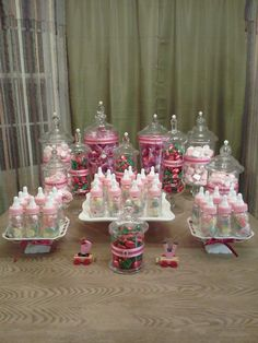 Candy Bars For Baby Showers | : Baby Shower Candy Bar Cumpleanos Candy  Buffet Cuerious Gearge