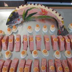 #Salmon on the mirror #biancaneve #gourmet