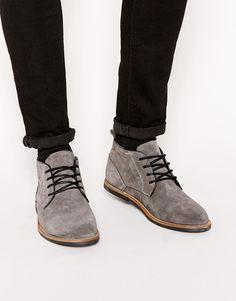 River Island Baker Desert Boots