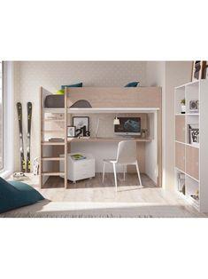 11 Best Lit Mezzanine Avec Bureau Et Armoire Images Baby Room