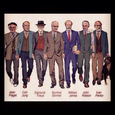 The dapper seven of psychoanalysis