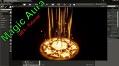Magic Aura Effect - UE4 Particle System Tutorial