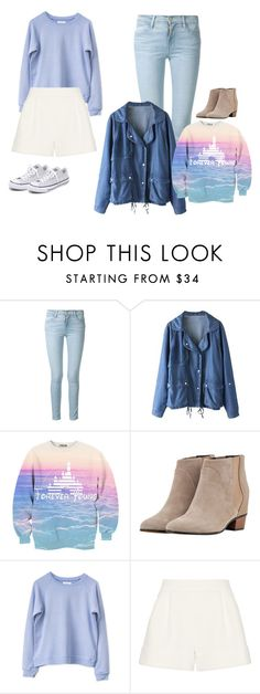 """""""tops"""" by queenalisa on Polyvore featuring Frame Denim, Augusta, 3.1 Phillip Lim and Converse"""