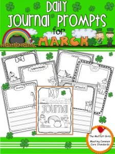 Daily Journal Prompts for March-Hurry up! This giveaway promotion ends at 11:59:59PM CST on 03-02-2013