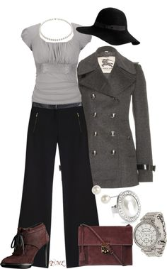 """""""Classic Pearls"""" by tmlstyle ❤ liked on Polyvore"""