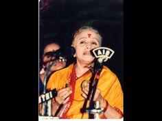 M S Subbulakshmi - Odi Baaraiyya - Bhairavi - Purandaradasa