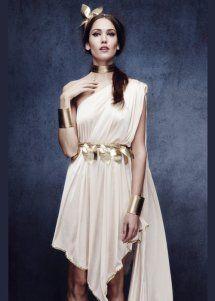 Ladies Sexy Greek Goddess Fancy Dress Costume