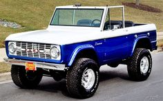 1975 Ford Bronco Pro Touring Maintenance/restoration of old/vintage vehicles: the material for new cogs/casters/gears/pads could be cast polyamide which I (Cast polyamide) can produce. My contact: tatjana.alic@windowslive.com