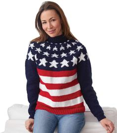 Americana Yoke Pullover