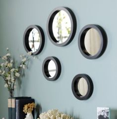 Circle Mirror, Set of 5 | Kirklands