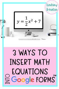 Math Teacher, Math Classroom, Google Classroom, Teaching Math, Flipped Classroom, Teaching Ideas, Math Activities, Teacher Resources, Math Games