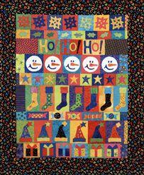 Ho Ho Ho.  FROM ROW by ROW Seasonal Quilts