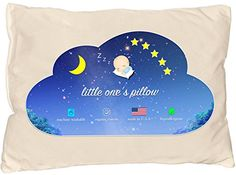 Little One's Pillow - Toddler Pillow Delicate Organic Cotton Shell HandCrafted in USA - Soft Yet Supportive Washable and Hypoallergenic No Pillowcase Needed 13 X 18 Old Pillows, Crib Pillows, Toddler Pillow, Baby List, Pillow Reviews, Kids Hands, Nursery Bedding, Kids House, Healthy Kids