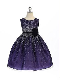Crayon Kids Purple Flower Girls Velvet Flower Sash Sequin Dress  #flowergirl #canadaonline #christmasoutfit #holidaydress #flowergirldress #holidayoutfit #christmasdress #fashionista #Oasislync #instalikes