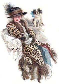Harrison Fisher, Golden Age Illustrator