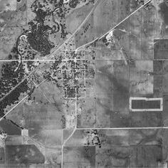 Hudson aerial photo from the 1930s
