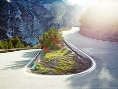The Mountains Project: Stelvio Hairpin by Michael Blann