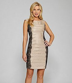 London Times Petites ShutterPleat Sheath Dress #Dillards
