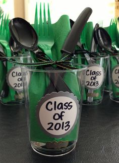 Put at the table for each person! Graduation Party 2013