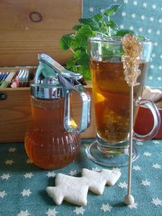 Citromfűszirup teához