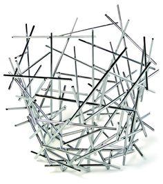 Alessi Blow Up Citrus Basket by Fratelli Campana, 2004 by All Modern Design Shop, Design Design, Interior Design, Fruit Bowls, Spaghetti Eis Dessert, Pick Up Sticks, Large Baskets, Modern Baskets, Furniture