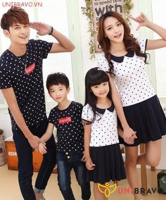2016 summer dresses mother daughter dresses fashion mom and daughter dress cotton family clothing short sleeve polka dot Matching Family Outfits, Mom Style, Short Outfits, Polka Dots, Fashion Dresses, Daughter, Summer Dresses, Blouse, Cotton