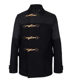 Cadogan Duffle Coat...off-centered toggles are kind of different...