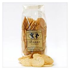 A traditional treat that harkens back to Charleston's plantation age, benne wafers are golden-hued, crunchy cookies made with butter, sugar and sesame seeds.