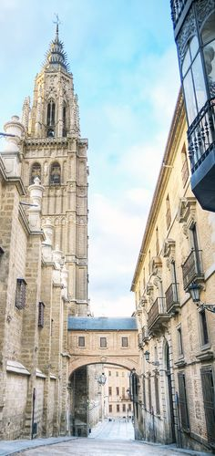 Cathedral of Toledo, Spain. Take a half-day tour to the historic city of Toledo, just outside of Madrid, and marvel at the Gothic-style architecture.