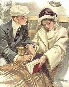 Harrison Fisher..shipboard romance