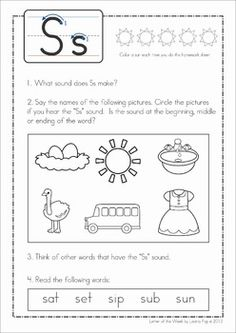 Phonics Reading Homework Pages. Great to send home in a binder so that children can complete each page multiple times to ensure letter sounds are not forgotten as new ones are introduced.