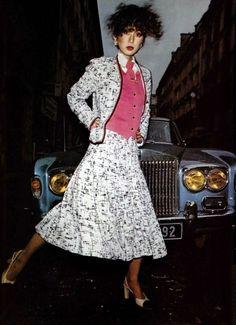 Chanel by Michel Picard. L'Officiel magazine 1978