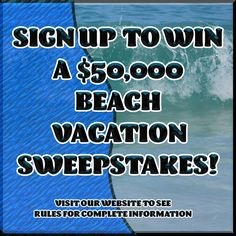 Beach Vacation Giveaway