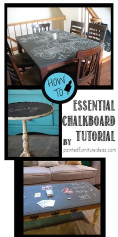 Paint your chalkboard correctly, read to learn the essentials to chalkboard paint!