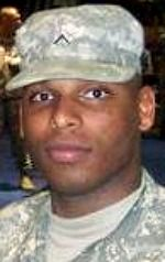 Army PFC Brandon K. Bobb, 20, of Orlando, Florida. Died July 17, 2007, serving during Operation Iraqi Freedom. Assigned to 401st Military Police Company, 92nd Military Police Battalion, 89th Military Police Brigade, Fort Hood, Texas. Died of injuries sustained when an improvised explosive device detonated near his vehicle during combat operations in Baghdad, Iraq.