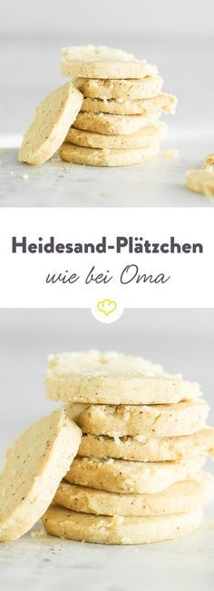 Heidesand ist ein mürbes Plätzchen, das erst durch d… The forgotten classic! Heidesand is a shortbread cake that only draws its typical taste of tanned butter. Food Cakes, No Bake Cookies, Cake Cookies, Shortbread Cake, Cookie Recipes, Dessert Recipes, Brownie Recipes, Vegan Recipes, Cake Vegan