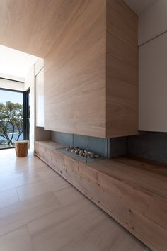 fireplace / quattro architecture / bayview house, sydney