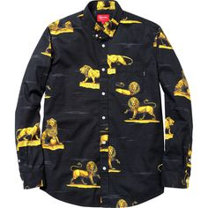 Lions Shirt, Supreme